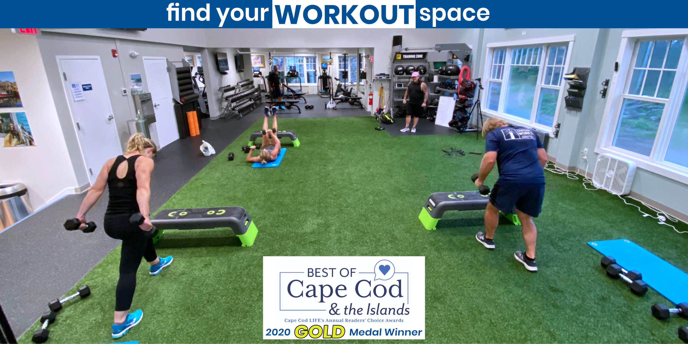 Find your workout space best of 2400x1200